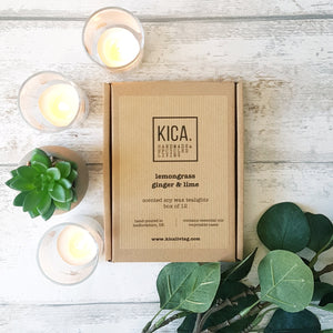 Soy Wax Tealights (Scented) - KICA Living