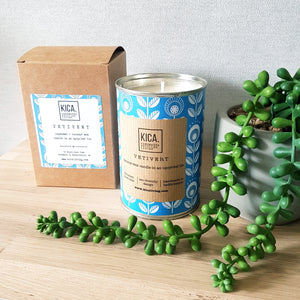Vetivert Upcycled Candle - KICA Living