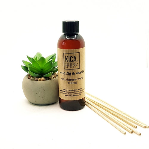 Wild Fig & Cassis Reed Diffuser Refill (100ml) - KICA Living