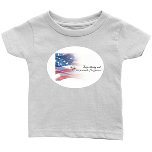 oh yeah, and the pursuit of happiness - infant t-shirt