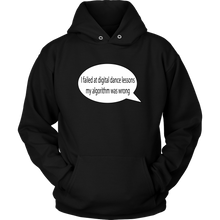 Load image into Gallery viewer, Digital Dance Algorithm Unisex Hoodie