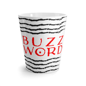 BUZZ WORD Latte Mug