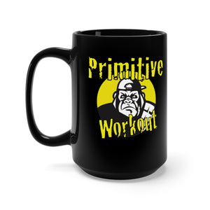 Primitive Workout Black Mug