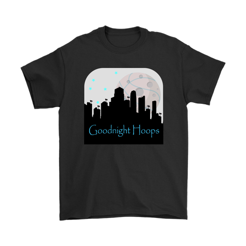 Goodnight Hoops - Men's T-Shirt