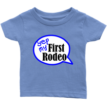 Load image into Gallery viewer, First Rodeo Infant t-shirt 6M, 12M, 18M, 24M