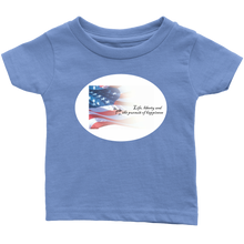 Load image into Gallery viewer, oh yeah, and the pursuit of happiness - infant t-shirt