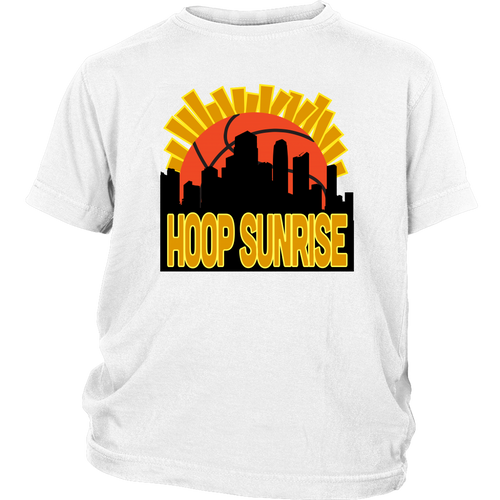 Hoop Sunrise - Youth T-Shirt