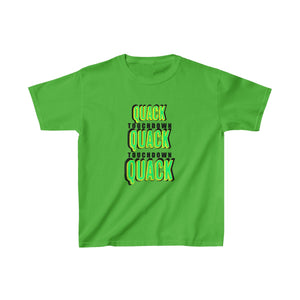 QUACK TOUCHDOWN Kid's T-Shirt