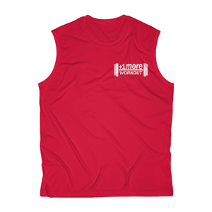 +1 MORE Men's Sleeveless Performance Tee
