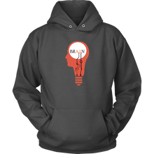 Load image into Gallery viewer, Brain on A.I. Artificial Intelligence Unisex Hoodie
