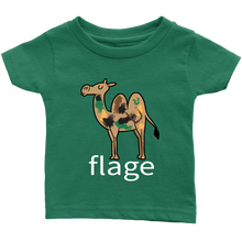 Load image into Gallery viewer, Camel-flage Infant T-Shirt