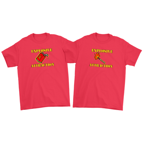 Explosive Attraction - Men's T-shirt
