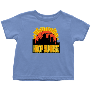Hoop Sunrise - Toddler T-Shirt