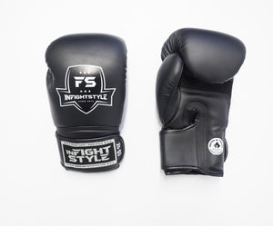 InFightStyle Enfused Muay Thai Boxing Glove - Black