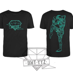 Diamond Muay Thai + Boxing - Unisex Custom Soft Jersey T-Shirt  - Teal