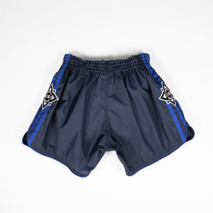 InFightStyle Lotus Nylon Short - Blue