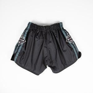 InFightStyle Lotus Nylon Short - Black