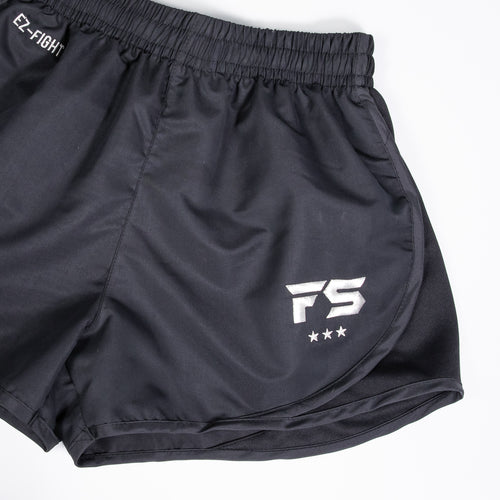 InFightStyle EZ-Fight Muay Thai/Training Short - Black