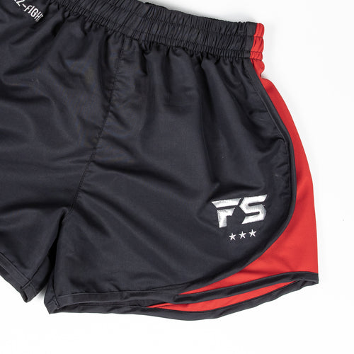 InFightStyle EZ-Fight Muay Thai/Training Short - Red