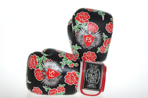 "InFightStyle ""Roses"" Muay Thai Boxing Gloves - InFightStyle Muay Thai Gear, Boxing Gloves"