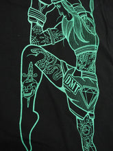 Load image into Gallery viewer, Diamond Muay Thai + Boxing - Unisex Custom Soft Jersey T-Shirt  - Teal