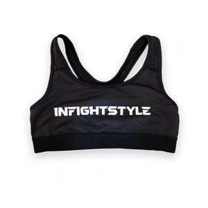 InFightStyle Classic Sports Bra - Black