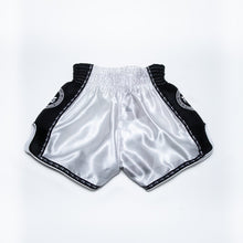 "Load image into Gallery viewer, InFightStyle ""OD"" Retro Muay Thai Short - White"