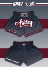 Load image into Gallery viewer, Ashley Nichols Infightstyle + Dojillo Ombre Thai Shorts