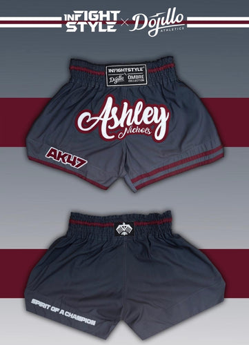 Ashley Nichols Infightstyle + Dojillo Ombre Thai Shorts