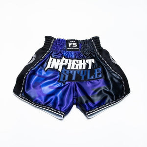 IFS Muay Thai Retro Short - Black