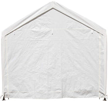 Load image into Gallery viewer, SORARA Carport 10 x 20 ft Heavy Duty Canopy Garage Car Shelter with Windows and Sidewalls, White