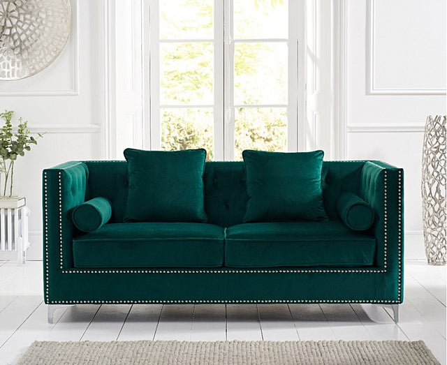 New York Velvet Sofa Collection ( 3 Colours)