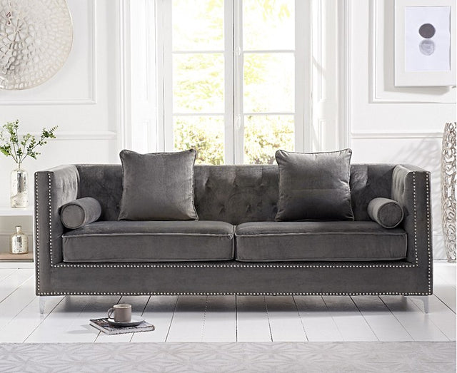 New York Velvet Sofa Collection ( 3 Colours) – Sofari GB By Forest ...