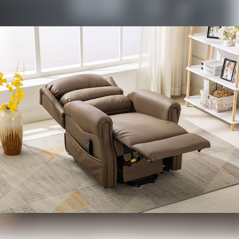 Agatha Dual Motor Riser Recliner Arm Chair