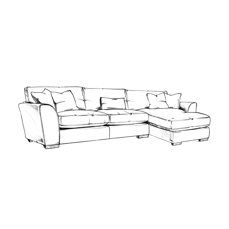 Hobbs Large Chaise Sofa Left Hand / Right Hand