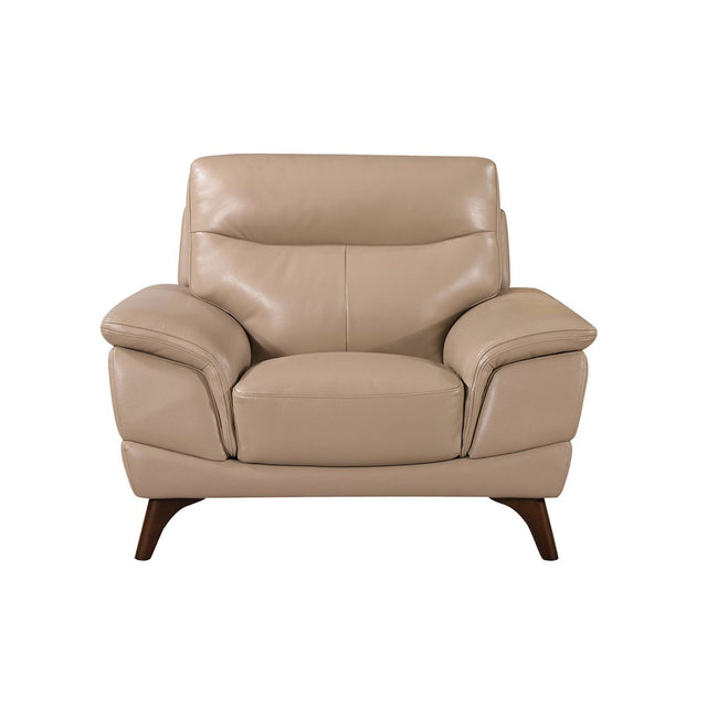 Carol Single Seater Top Grain Leather Chair