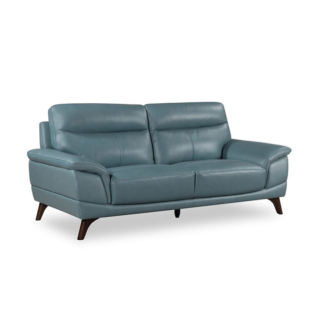 Carol Three Seater Top Grain Leather Sofa