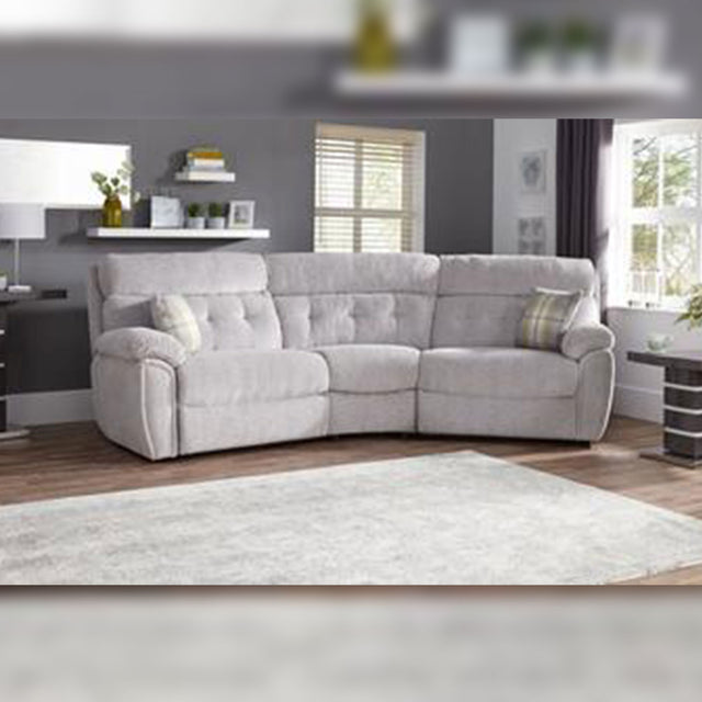Milano 4 Seater Curved Static Sofa