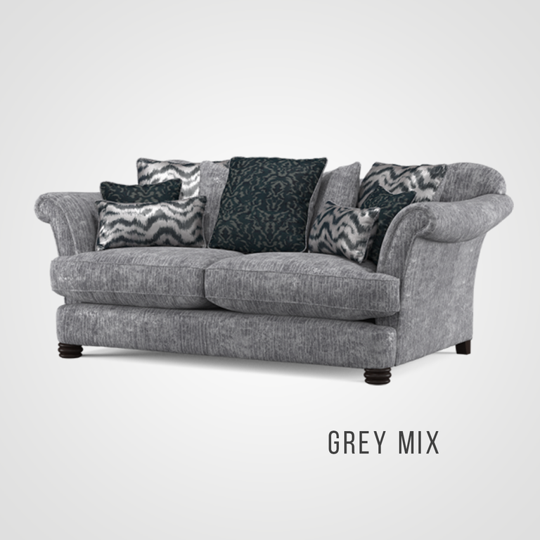 Henley Pillow Back 3 Seater Sofa
