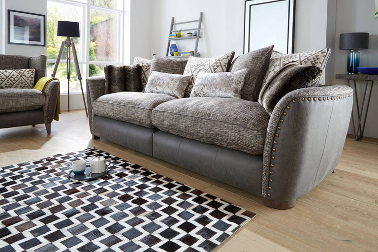 Cavendish Pillow Back 4 Seater Sofa