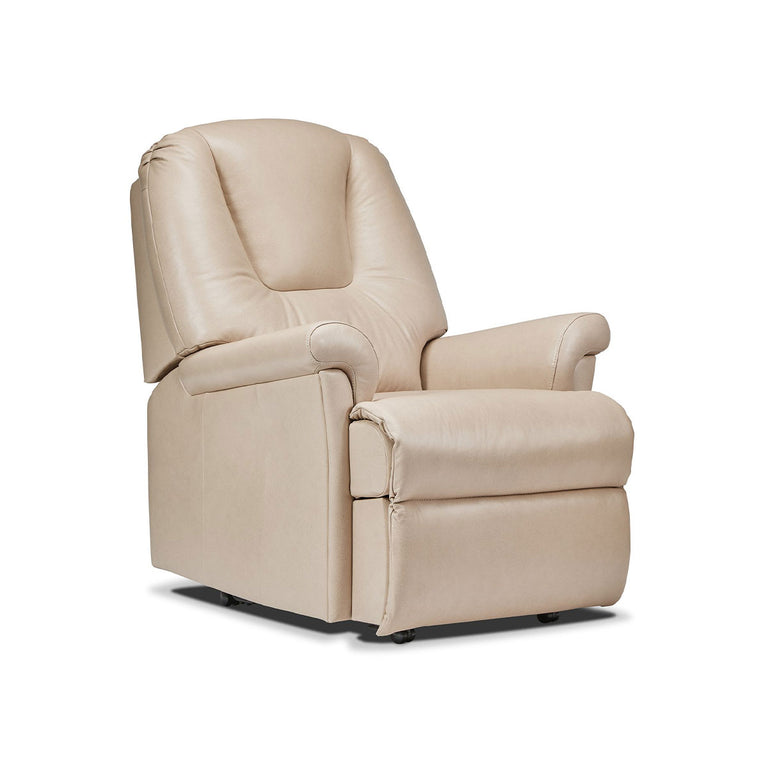 Milburn Manual Or Powered Reclining Chair 100% Genuine Cowhide In A Range Of Colours