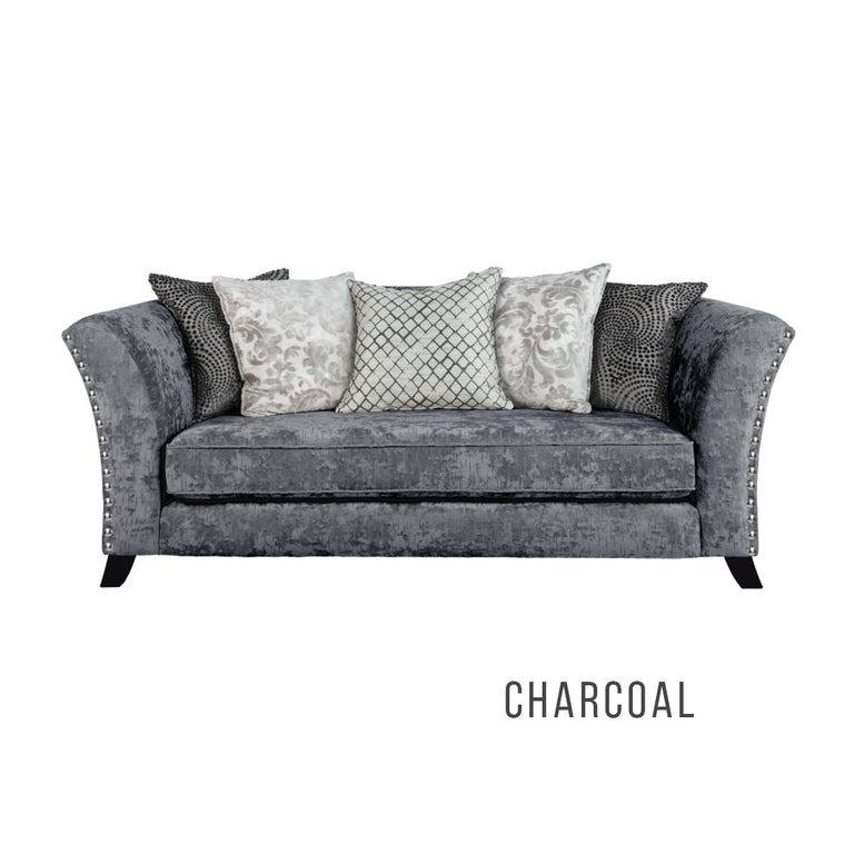 Carnaby Pillow 3 Seater Sofa