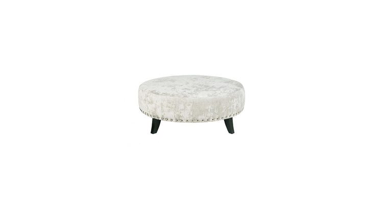 Carnaby Large Round Footstool