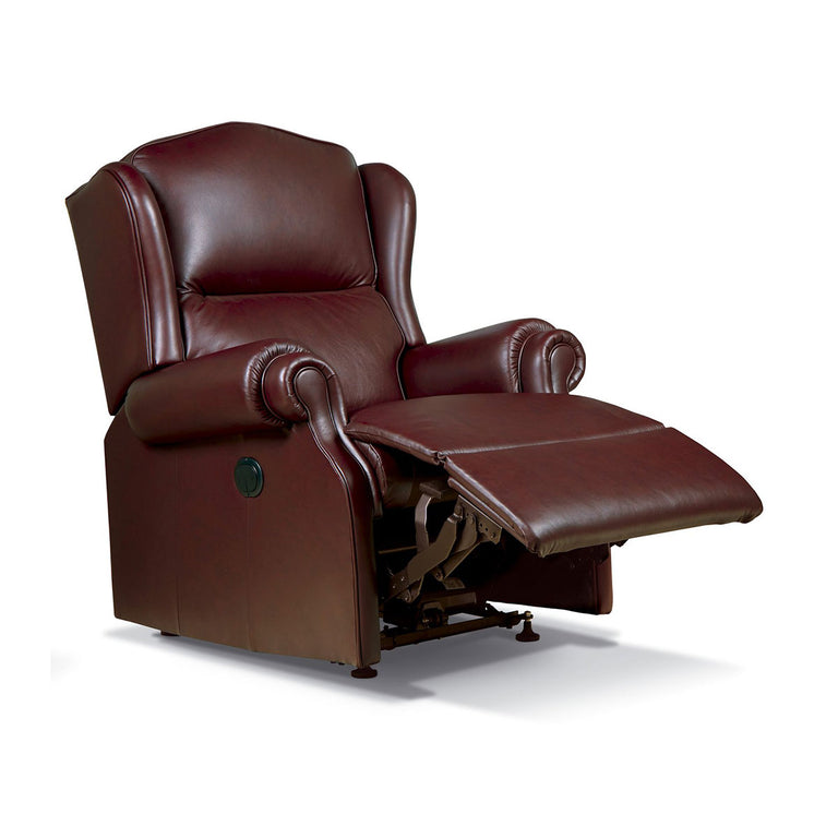 Claremont Manual And Powered Reclining Chair 100% Genuine Cowhide In A Range Of Colours