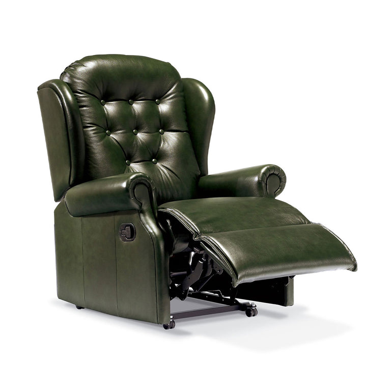 Lyndon Manual And Powered Reclining Chair Genuine 100% Cowhide Reclining Chair In A Choice Of Colours