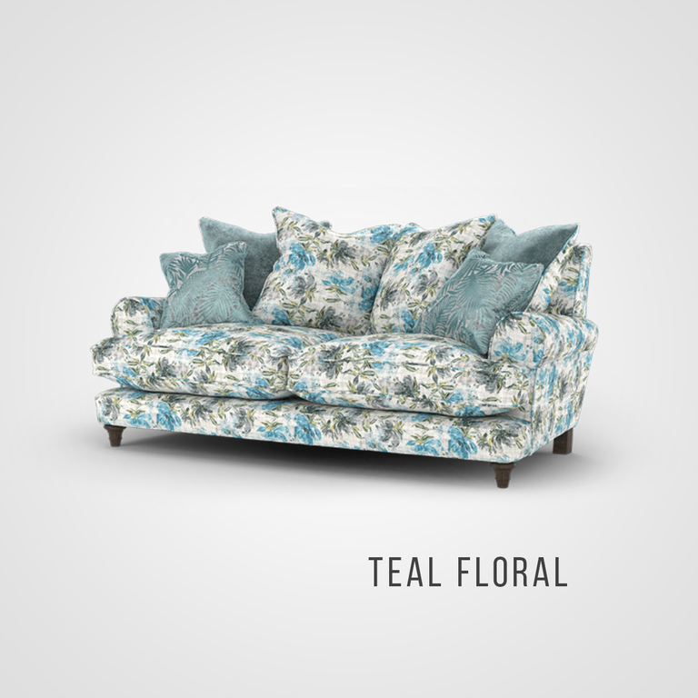 Deborah Pillow Back 2 Seater Sofa