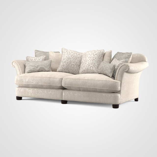 Henley Pillow Back 4 Seater Sofa