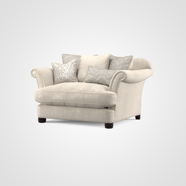Henley Pillow Cuddler Sofa