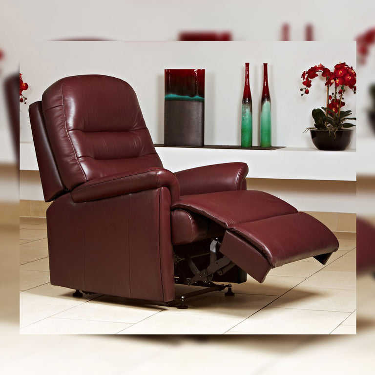 Keswick Manual Or Powered Reclining Chair 100% Genuine Cowhide In A Range Of Colours