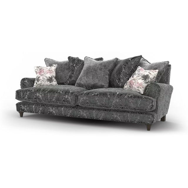 Deborah Pillow Back 3 Seater Sofa